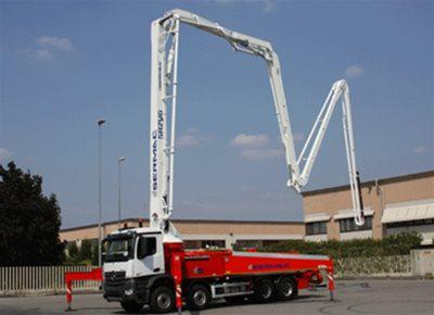 Truck Mounted Concrete Pumps with Boom