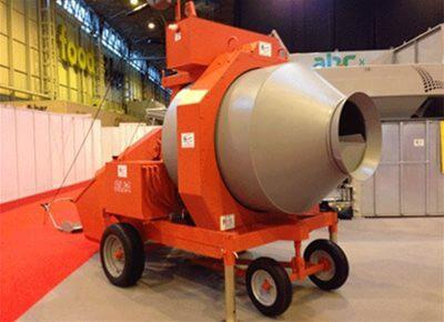 Reversible Drum Concrete Mixers - electric/diesel