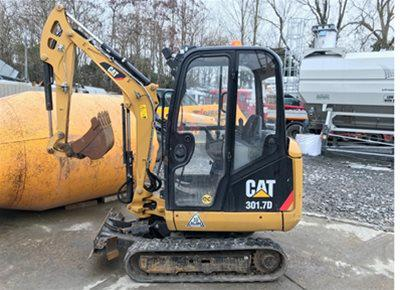 1 off Used CATERPILLAR model 301.7D Mini Excavator (2015)