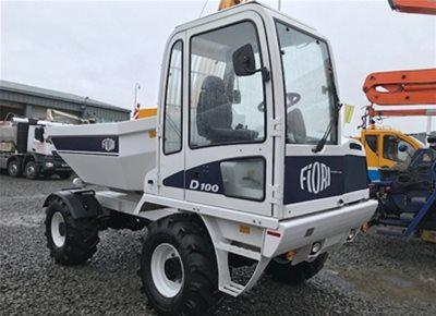 2 off Ex-Hire HYDROMIX / FIORI model D100SW Dumpers (2018)