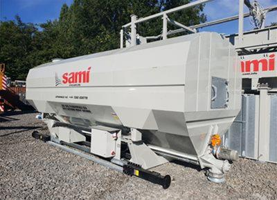 1 off Ex-Hire HYDROMIX / SAMI Eurosilo SPF32/DE-B Low Level Transportable Silo (2020)