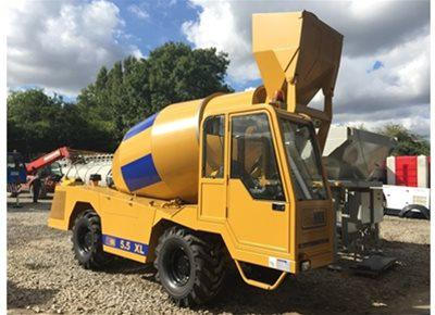 Rough Terrain Concrete Mixers