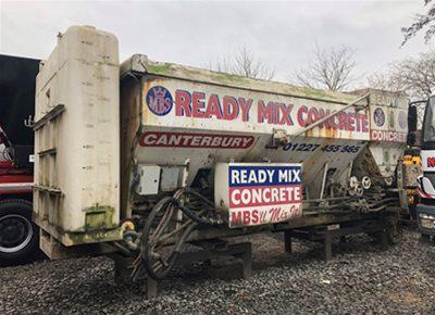 1 off Used ARMCON CemenTech model MCD8MX-150 Static Volumetric Concrete Mixer (2007)