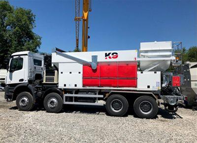 1 off New HYDROMIX / KIMERA model K9 Mobile Volumetric Batching Plant (2020)