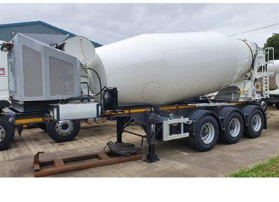 1 off New DENNISON / McPHEE 12m3 Trailer-mounted Concrete Mixer (2019)