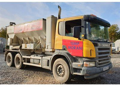 1 off Used SCANIA / ARMCON model MCD8MX Volumetric Concrete Mixer (2006)