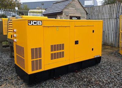1 off New JCB model G91 QS 88kVA Super Silent Generator (2017)