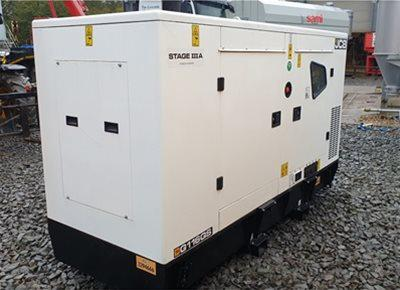 1 off New JCB model G116 QS 110kVA Super Silent Generator (2020)