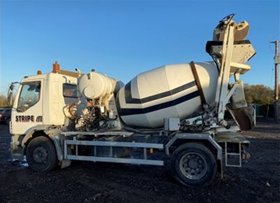 1 off Used DAF / HYDROMIX SRY350G Self-Loading Concrete Truck Mixer (2002 / 2007)
