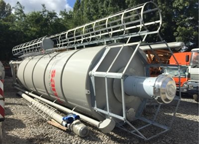 1 off New HYDROMIX / SAMI model SILMATIC SM 24/43 DE Vertical Cement Silo (2021)